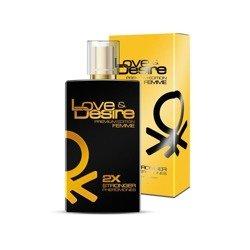 Feromony Love & Desire Gold damskie 100 ml