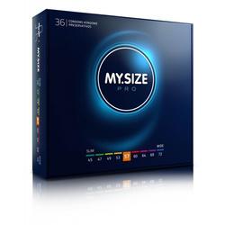 MY.SIZE 57 Dopasowane prezerwatywy - 36 szt