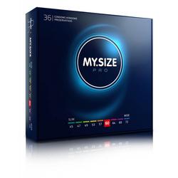 MY.SIZE 60 Dopasowane prezerwatywy - 36 szt