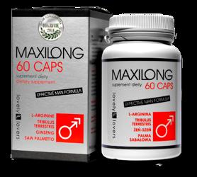 MaxiLong 60 kapsułek - nowoczesny suplement powiększający penisa
