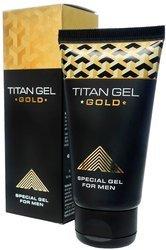 Oryginalny Titan Gel na powiększenie penisa 50 ml złoty