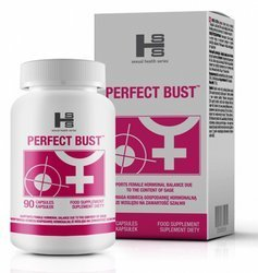 Perfect Bust 90 tabletek - powiększanie piersi