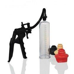 Pompka powiększająca penisa - the perfect pump + 3 zawory