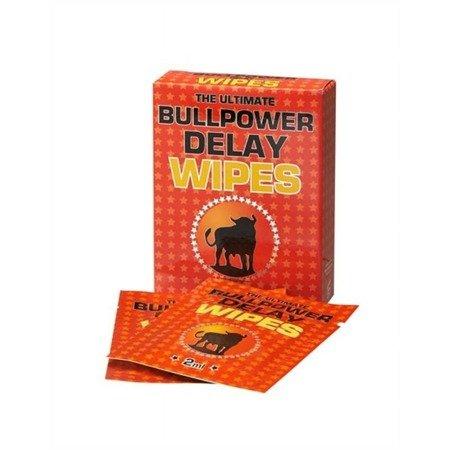 Bull Power Wipes 6szt. - chusteczki opóźniające wytrysk