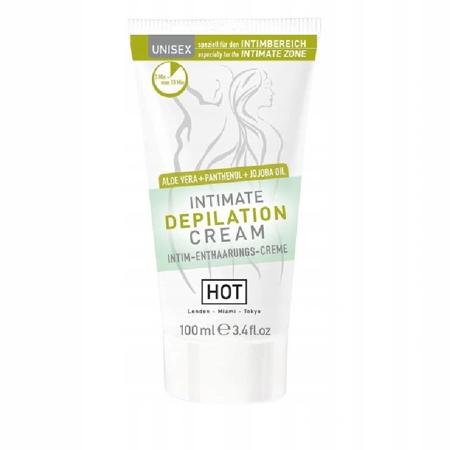 Krem do depilacji intymnej HOT Intimate Depilation Cream 100ml