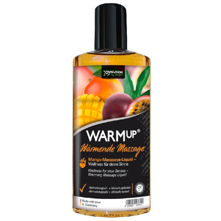 Olejek do masażu Warmup Mango + Maracuya 150 ml