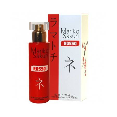Perfumy z feromonami damskimi Aurora Mariko Sakuri Rosso 50 ml