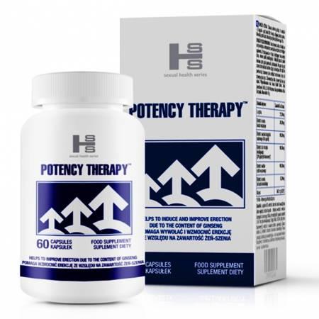 Potency Therapy 60 tab na silną erekcję - KRÓTKA DATA WAŻNOŚCI 05/2021